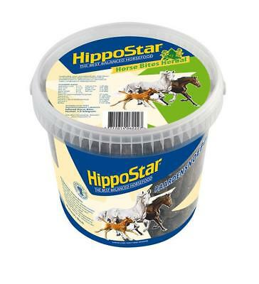 (EUR 2,66/kg) 3.31lbs HippoStar 6222 Horse treats with Herbs