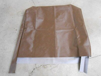 "171039-0015 Blue Bird School Bus 39"" High Back Staple Cover Brown Seat Cover"
