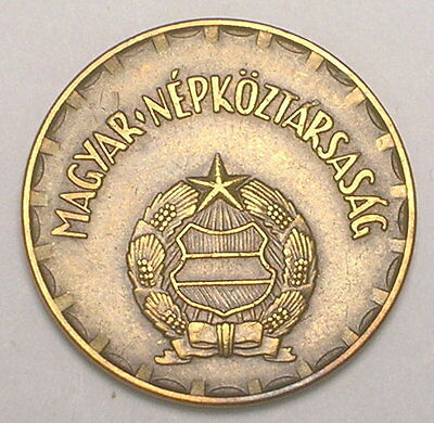 1978 Hungary Hungarian 2 Forint Arms Coin VF+