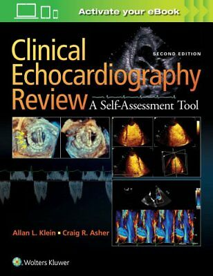 Clinical Echocardiography Review by Allan L. Klein (Paperback, 2017)