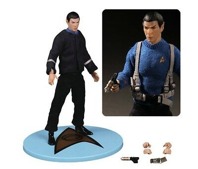 DCL26527: Mezco Star Trek Spock Cage One:12 Collective Action Figure