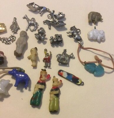 Vintage - Cracker Jack Prizes / Charms and Odd Little Things...