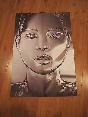 Very Rare KATE MOSS Visionaire 63 Forever Promo POSTER Mario Testino Double Side