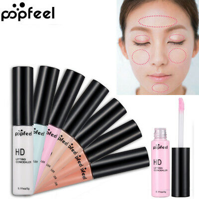 Popfeel Women Beauty Cosmetic Bronzers & Highlighters Palette Concealer Make Up