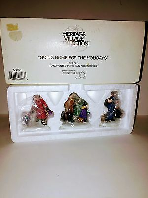 "Dept 56    ""Going Home for the Holidays""    58896"