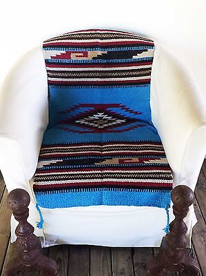"""Lone Star Mexican Rug/Table Runner 20"""" x 40"""""""