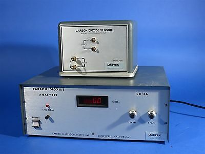Ametek CD-3A CO2 Carbon Dioxide Analyzer with Sensor