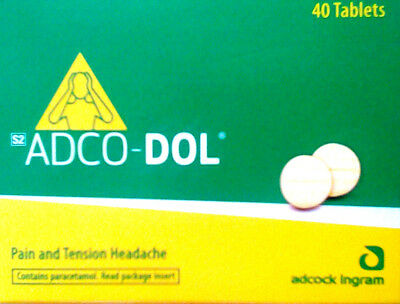 ADCO-DOL PAIN RELIEF 40's
