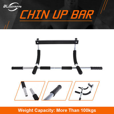 Portable Chin Up Bar Home Doorway Wall Mounted Pull Up Dip Abs Exercise for Sale