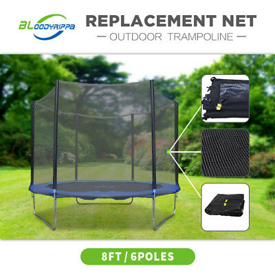 8ft 10ft 12ft 14ft 16ft Optional Replacement Outdoor Trampoline Net Reliable