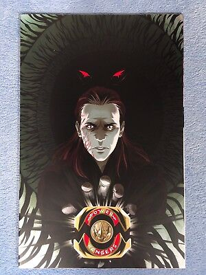 MIGHTY MORPHIN POWER RANGERS #16 GONI MONTES VARIANT Boom! Comics Virgin Cover