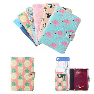 Travel PU Leather Passport Organizer Holder Card Case Protector Cover Wallet New