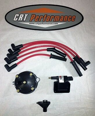 JEEP GRAND CHEROKEE 4.0L IGNITION TUNE UP KIT 1994-1997  RED CAP /& RED WIRES