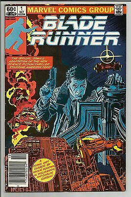 Blade Runner #1 October 1982 Marvel Comics Great Shape And Color