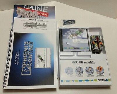 Phoenix Contact CLIP PROJECT 6.0 program software WITH MANUALS