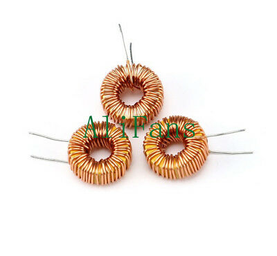 10Pcs DIY mah--100uH 6A Coil Toroid Core Inductors Wire Wind Wound