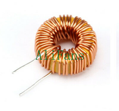 5Pcs DIY mah--100uH 6A Coil Toroid Core Inductors Wire Wind Wound New