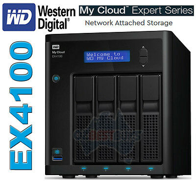Western Digital WD My Cloud Expert EX4100 Network Attached Storage NAS DISKLESS