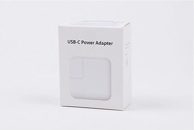 "Apple 29W USB-C Macbook 12"" Power Adapter Charger + AU plug NEW!"