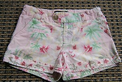Fred Bare Girls Floral Shorts  Sz  6