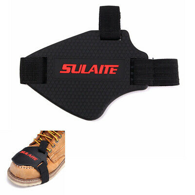 Motorcycle Shifter Shift Guard Boot Shoes Cover Protector Protective Gear Black