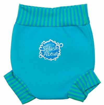 Splash About Happy Nappy - Turquoise Blue Lagoon - Small - XXL