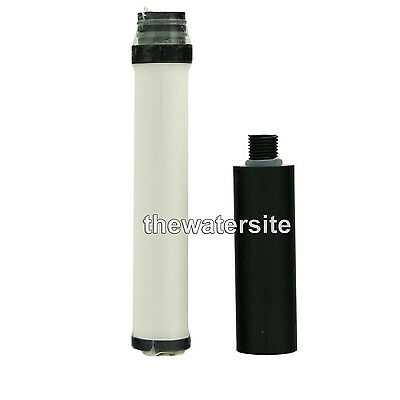 Spare Ceramic & Carbon FiltersFor Survival, Wilderness Camping Water Filter