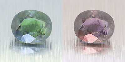 Untreated 100% Colour Change Ceylon Alexandrite 0.90 Ct. (00719)