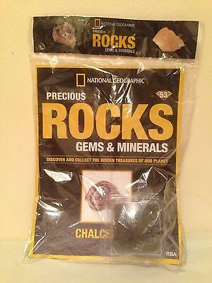 National Geographic Precious Rocks, Gems & Minerals Issue 53 Chalcedony