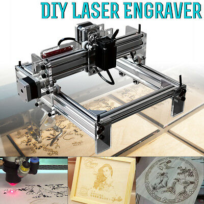 200mW Area Mini Laser Engraving Cutting Machine Printer Kit Desktop DIY 20*17cm