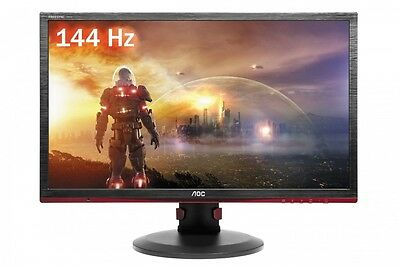 AOC 24in G2460PF LED FREE-SYNC 1MS 144HZ Gaming Monitor