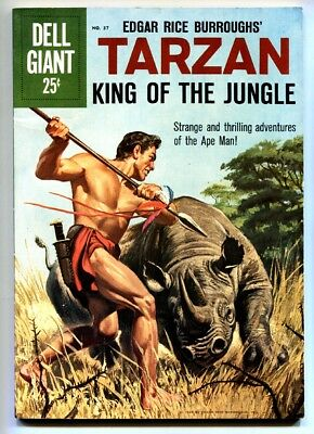 Tarzan King of The Jungle #37-1960-Jesse Marsh-jungle thrills-ERB-VF- HIGH GRD
