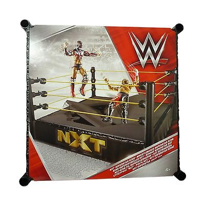 WWE Wrestling Toy Superstar NXT Ring USA Wrestling Ring NEW BOXED