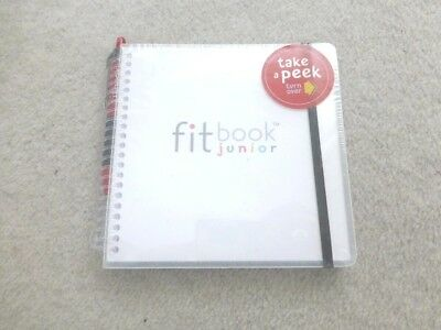 FITBOOK JUNIOR : fitness and nutrition planner Brand New sealed