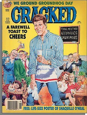Cracked Magazine - 1993, August - A Farerwell Toast to Cheers, Groundhog Day