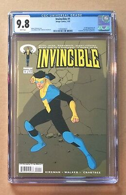 Invincible #1 • Cgc 9.8 • Image Kirkman • First Full Appearance • First Print