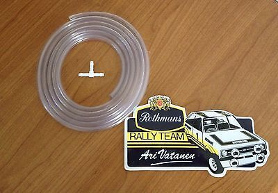 Ford Mk1 Mk2 Escort Windscreen Washer Pump Pipe + Fitting Race Rally