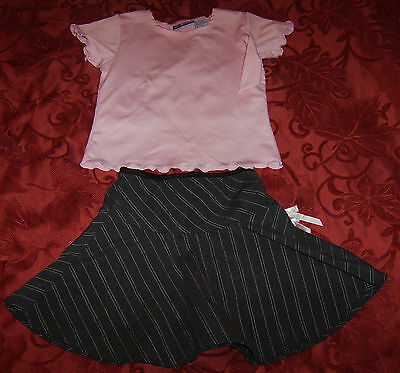 Girls GIRL TRIBE 2 piece outfit skirt top size 5 / 6 USED clothes