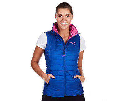 Puma Women's Essential Light Padded Vest - True Blue