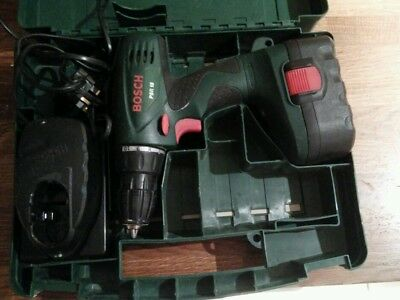 bosch psr 14 4 cordless drill picclick uk. Black Bedroom Furniture Sets. Home Design Ideas