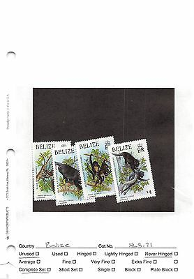 Lot of 27 Belize MNH Mint Never Hinged Stamps #98599 X R
