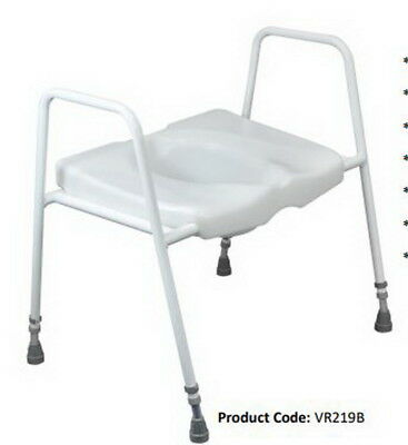 XMAS BEST $ BUY ! President Bariatric OVER TOILET AID  Adjustable Height  VR219B