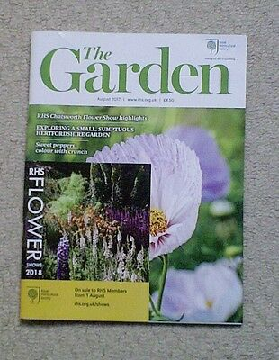 'The Garden' - August 2017 issue - RHS Royal Horticultural Society magazine