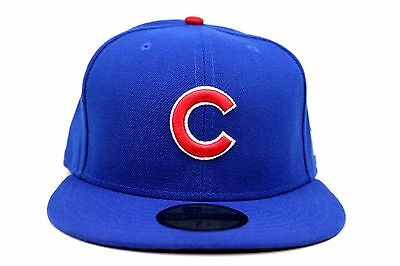 8a4de1776fd Chicago Cubs Royal Blue Scarlet Red White NE Flag MLB New Era 59Fifty  Fitted Hat