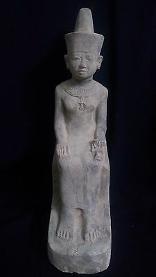 Rare Ancient Egyptian Statue of Isis (380–362 BC)
