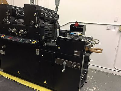 RYOBI 3985/ AB Dick 9985 2 color printing press-100% Functional - Can be tested