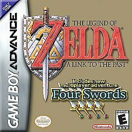 Legend of Zelda A Link to the Past (Nintendo Game Boy Advance, 2002) FOUR SWORDS