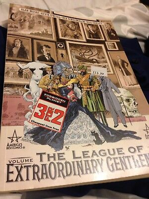 The League Of Extraordinary Gentleman TPB Graphic Novel Volume 1