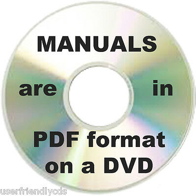 KONICA Copier Printer Manuals Fax Multi MFC Service Manual & PARTS CATALOGS DVD