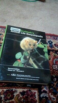 Grzimek's Animal Life Encyclopedia complete 17 vols 2nd ed 2004 home schooling